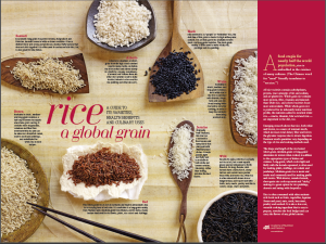 Types of rice courtesy of eatright.org