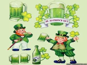 St Patrick's Day shenanigans